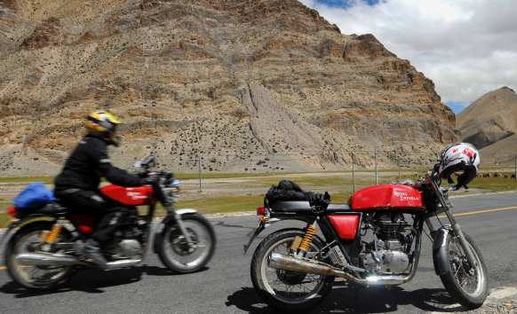Yes, cafe racers can cross the Himalaya