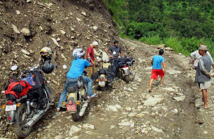 Landslide.stuck