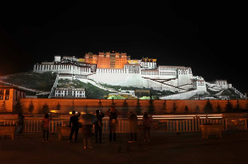 Potala.palace.night